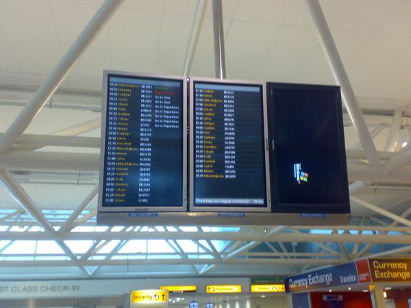 Heathrow Gepäckprobleme